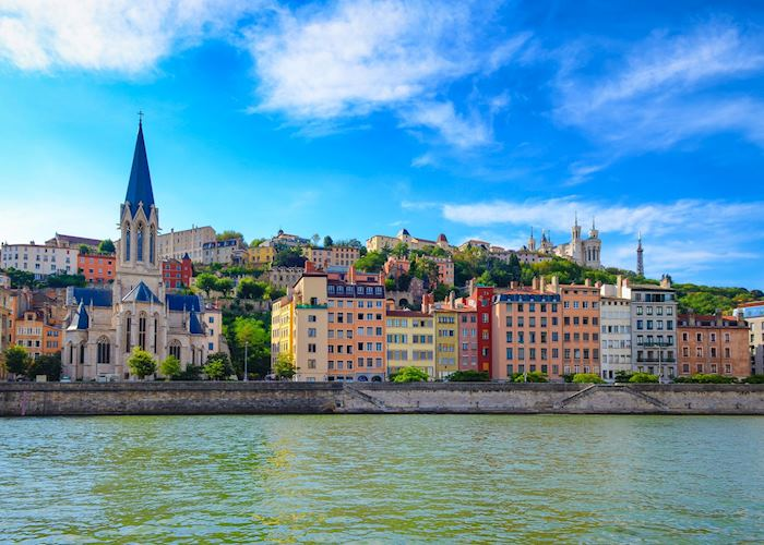 Views from the river, Lyon