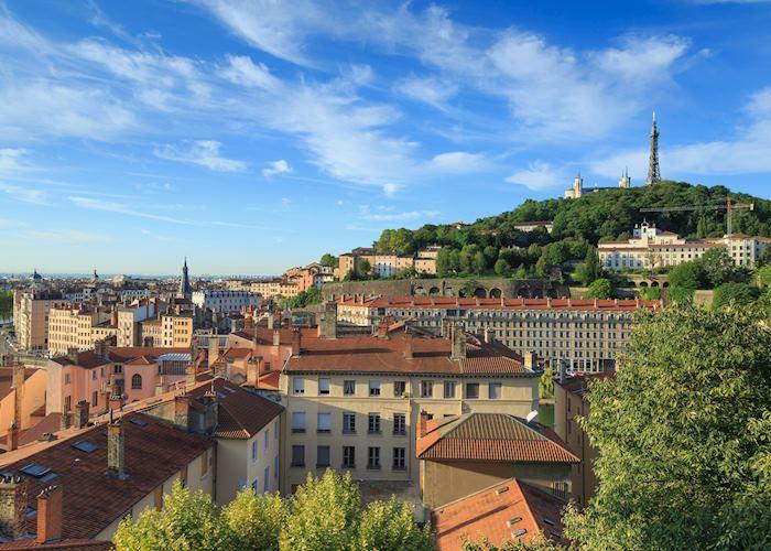 Aerial views, Lyon