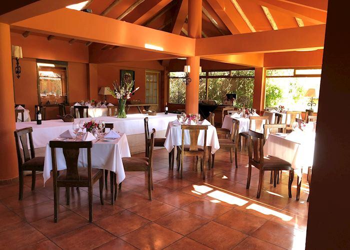 Dining area at Casona Yucay