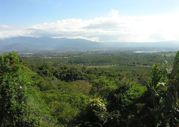 Distant view of San José, Costa Rica