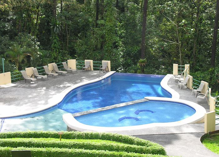 Swimming pool, Arenal Observatory Lodge
