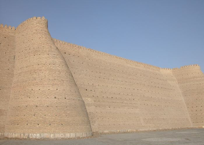 The Ark walls, Bukhara