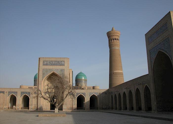 The Kalon Minaret from the Kalon Mosque