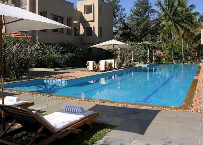 Pool at Shreyas, Bangalore