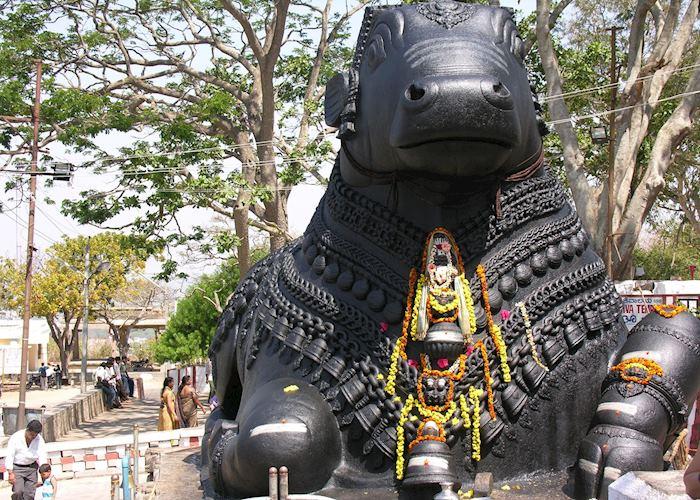 Nandi bull, Chamundi Hill, Mysore
