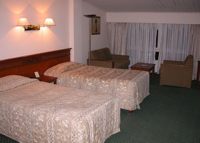Deluxe room, Jumolhari Hotel, Thimpu