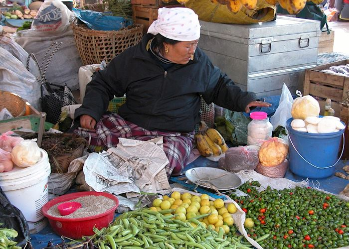 Weekend market, Thimpu