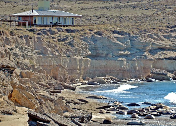 Casa de los Acantilados (not the main house), Estancia Rincón Chico, Península Valdés
