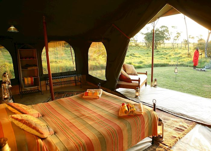 Elephant Pepper Camp Honeymoon suite, Masai Mara