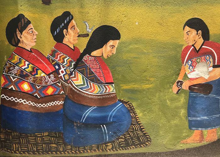 Murals at San Juan de Comalapa