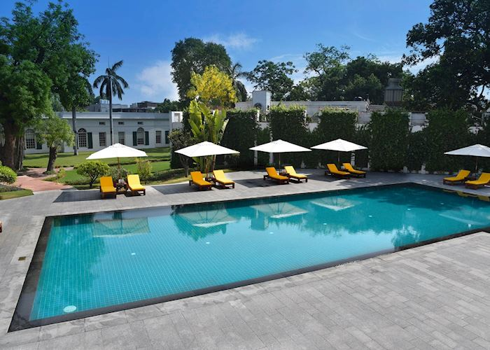 Pool, Maidens Hotel, Delhi
