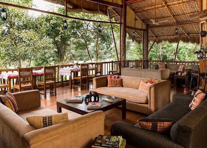 Dinning area, Diphlu River Lodge