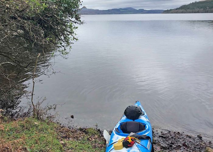 Kayaking on Lough Gill