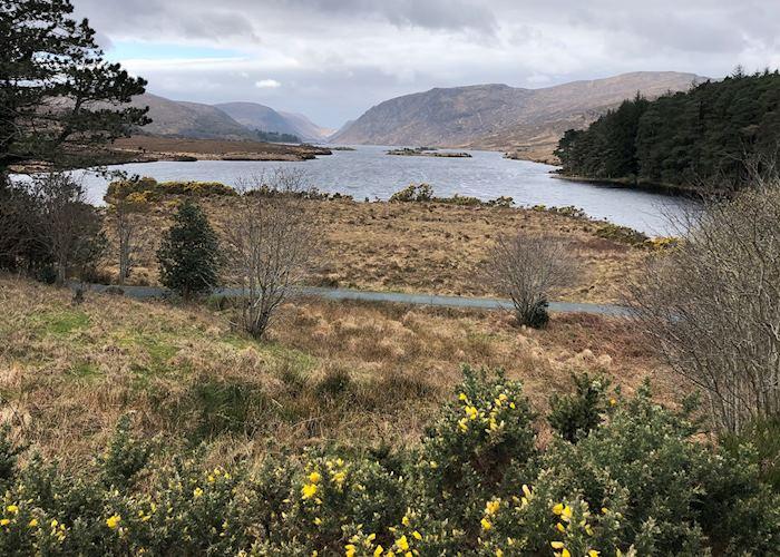 View over Glenveagh National Park