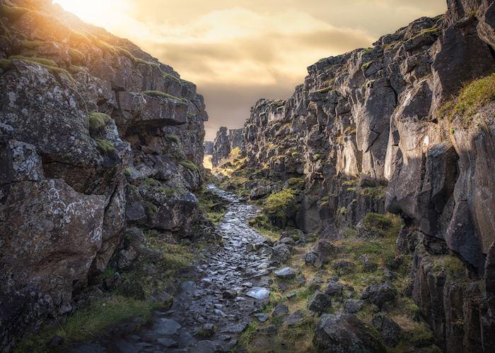 Almannagjá, Þingvellir National Park
