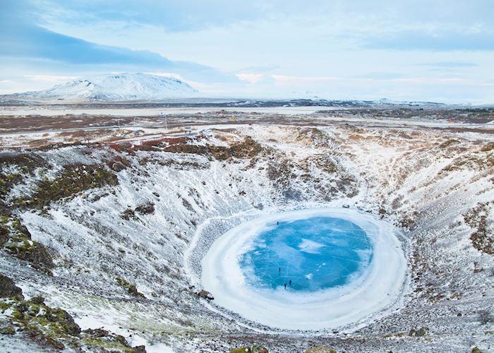 Kerið crater, Golden Circle