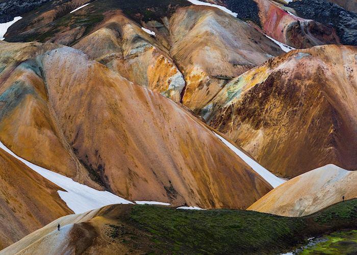Rhyolite mountains of Landmannalaugar