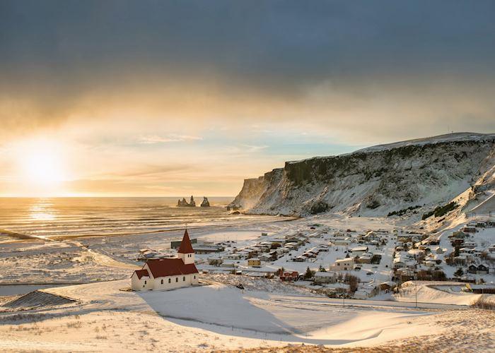 Winter in Vík