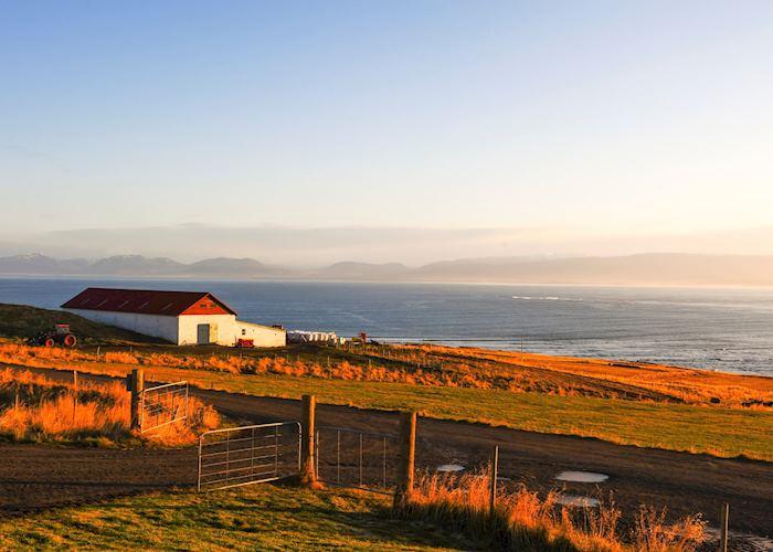 North Iceland coastline