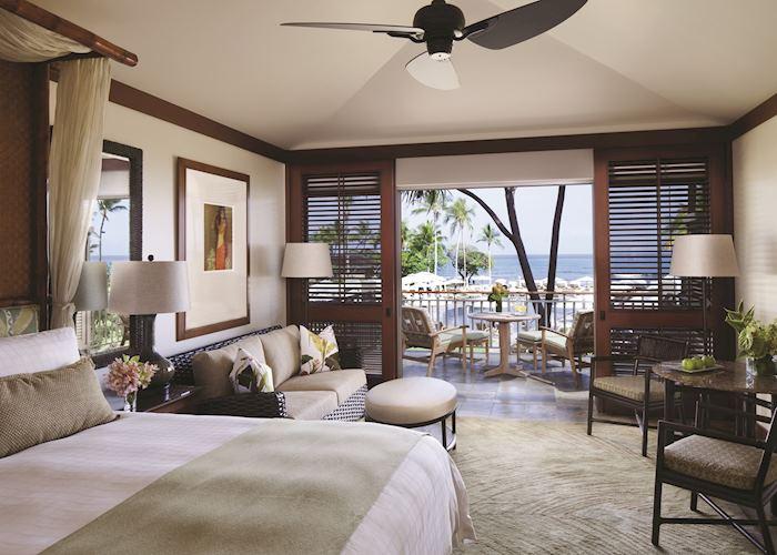 Guest room at Four Seasons Hualalai
