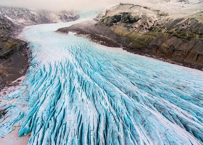 Glacier in Vatnajökull National Park