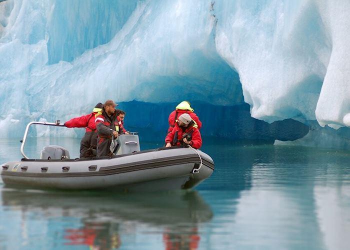 Jökulsárlón Glacier Lagoon tour by Zodiac