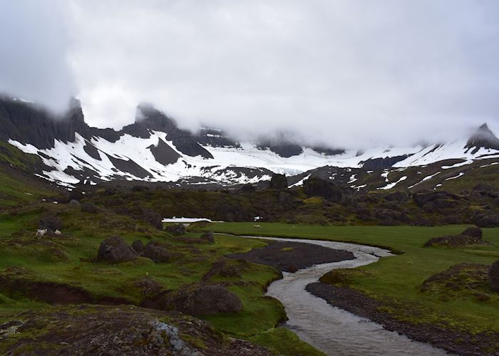 Hiking in East Iceland