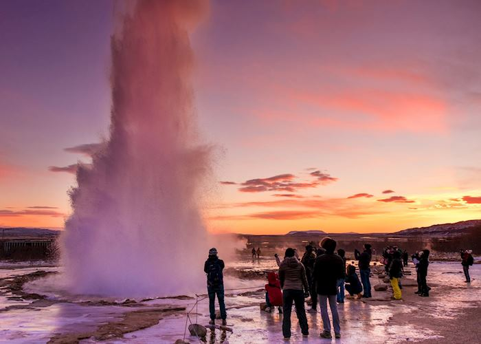 Strokkur geyser, Golden Circle