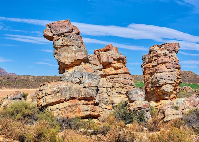 Rock formats near the Cederberg Mountains