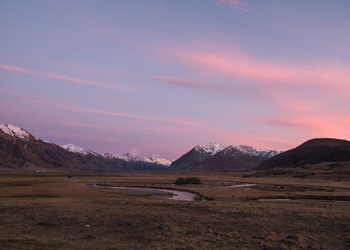 Ahuriri Valley Sunset