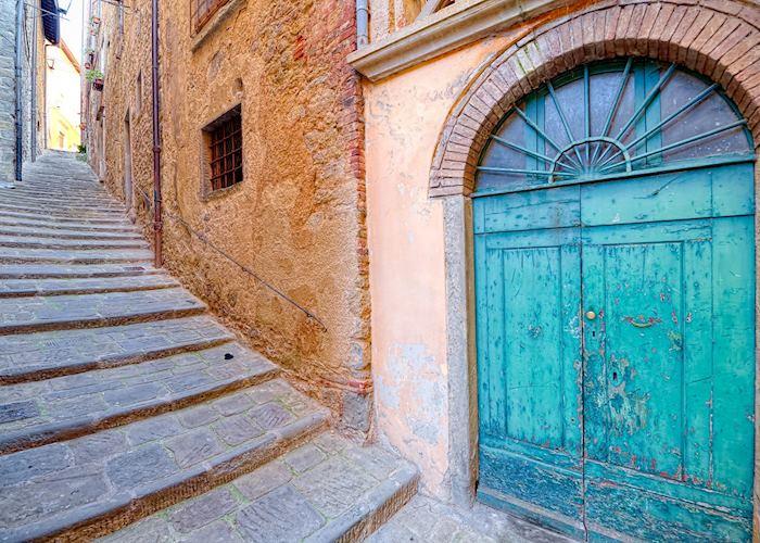 Narrow streets, Cortona