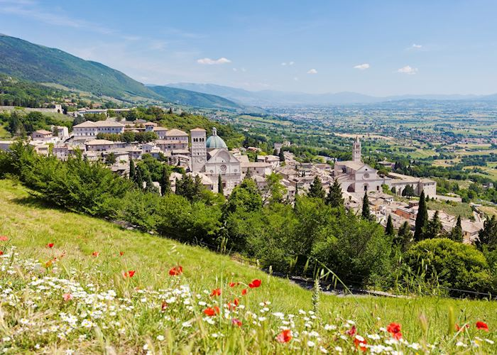 Views over Assisi, Umbria