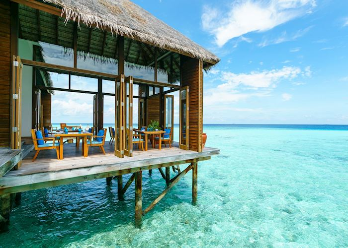 Mandhoo Spa Restaurant, Conrad Rangali Island & Resort, Maldive Island