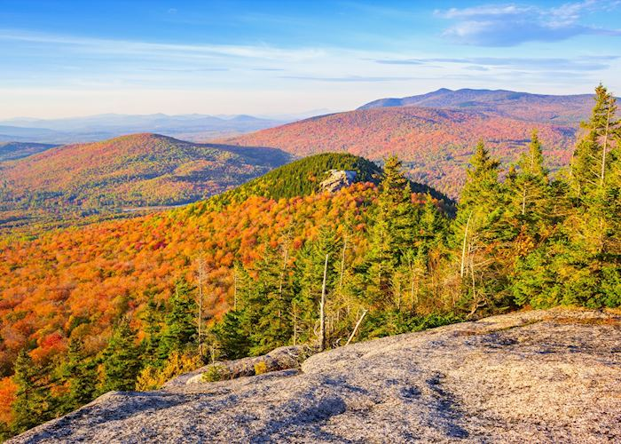 White Mountains in Fall