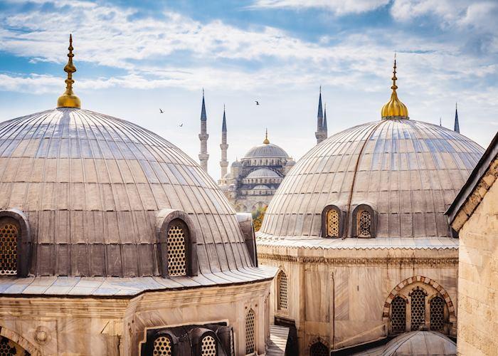 Hagia Sofia and Blue Mosque, Istanbul