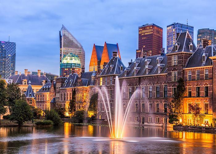 The Hague skyline, Netherlands