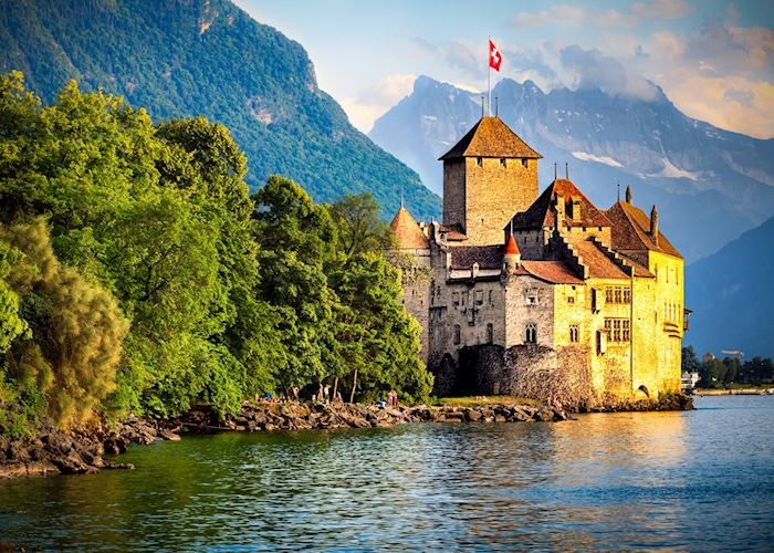 Chateau de Chillon, Montreux