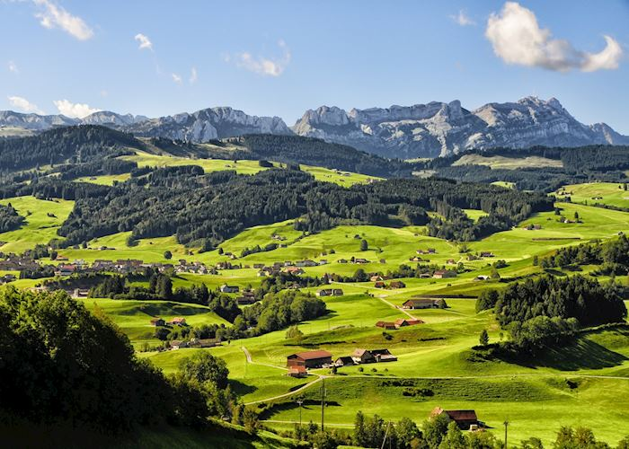 Appenzell valley