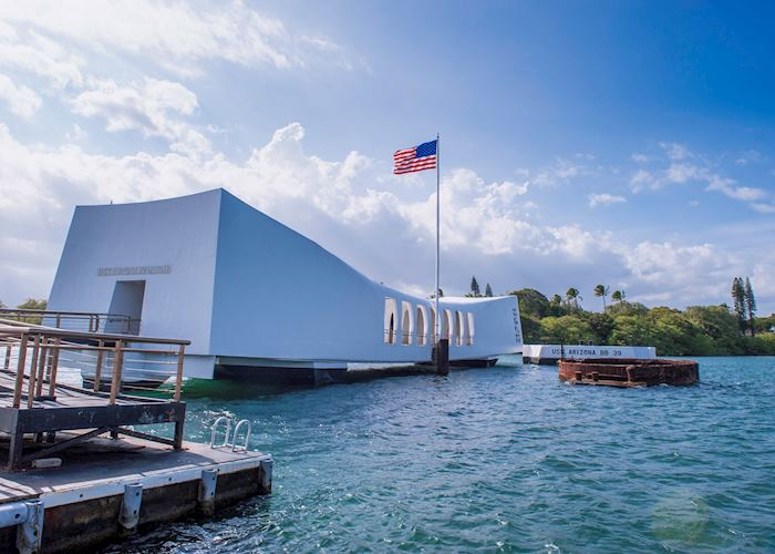 USS Arizona at Pearl Harbor, Oahu