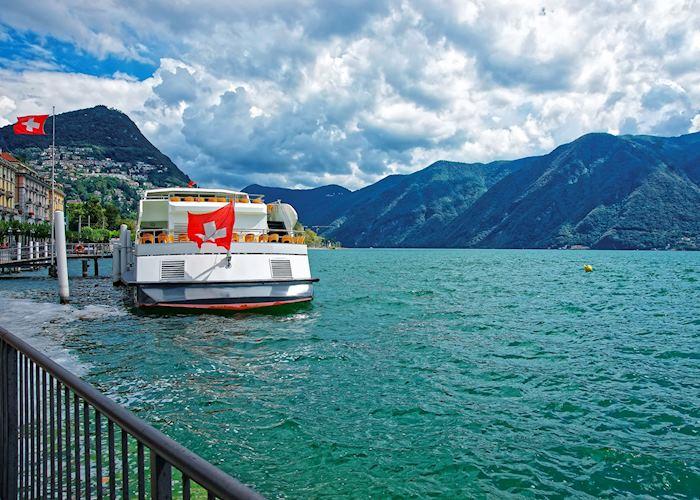 Boat cruise on Lake Lugano