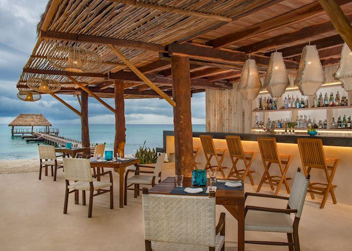 Coral Grill restaurant, Viceroy Riviera Maya