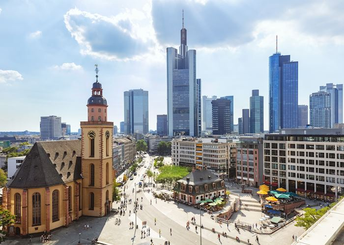 Hauptwache Square, Frankfurt