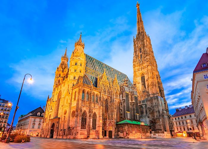 Saint Stephen's Cathedral on Stephansplatz