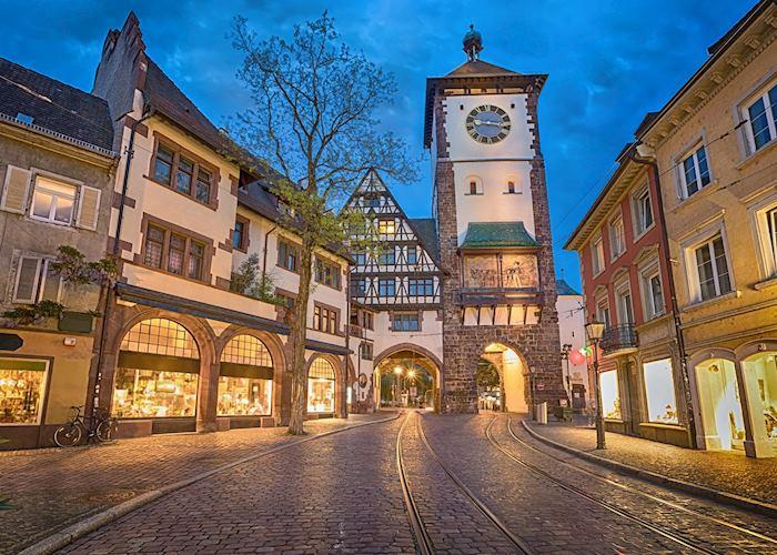 Schwabentor city gate, Freiburg