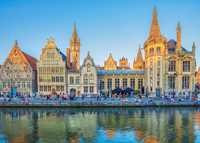 Historic Ghent, Belgium