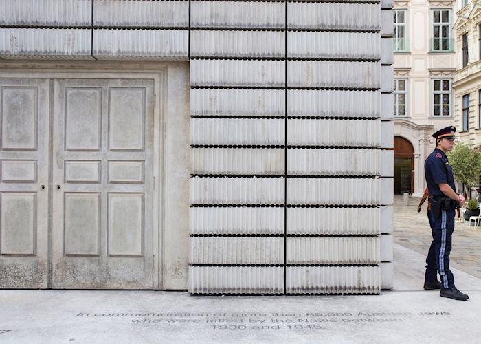 Jewish Memorial in Judenplatz, Vienna