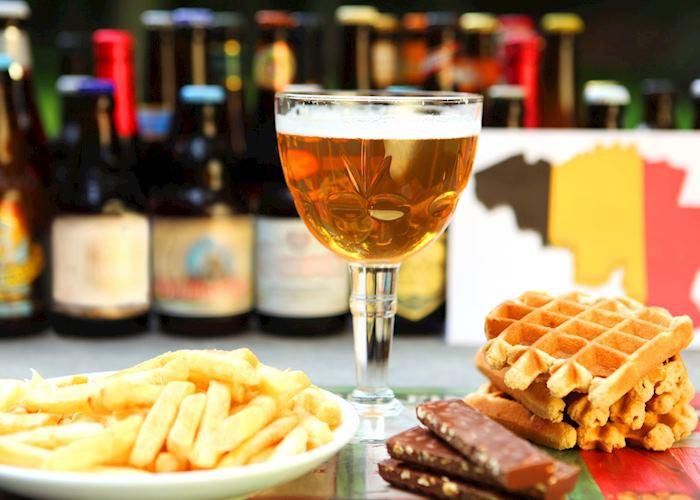 Frites, waffles, chocolate and Belgian beer, Antwerp