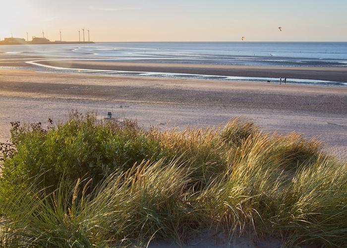 Coastline of Knokke-Heist, Belgium