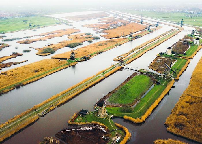 Kinderdijk canals, Netherlands