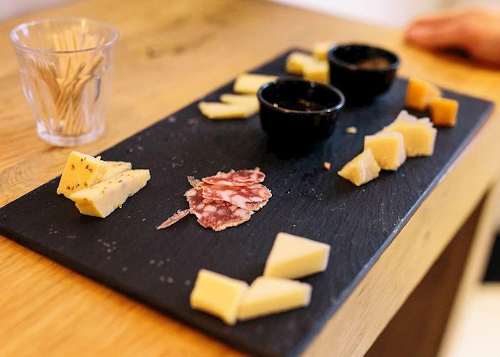 Cheese sampling in Amsterdam